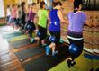 Power yoga, barre classes, pilates studio.