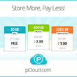 Lower Prices and Bigger Cloud Storage with pCloud