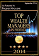 2014 Top Wealth Managers Award