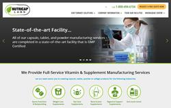Nutricap Labs New Website