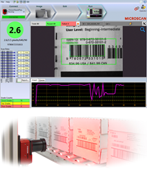Visualize trends in barcode quality as they are applied to products using the Verification Monitoring Interface (VMI).