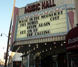 Theater where Christmas Ride will run September 19 -  25