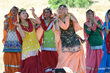 South Asian Dancers at the Coyote Valley Family Feast