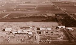 This photo shows Glendale Community College in Glendale, AZ, under construction in 1966.