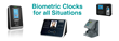 uAttend UK - Biometric Clocking Terminals