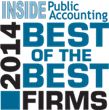 BlumShapiro Selected a 2014 Best of the Best Accounting Firm By INSIDE...