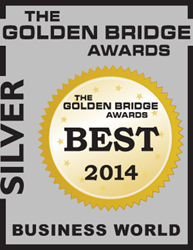 2014 Golden Bridge Awards Silver Winner