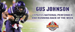Gus Johnson - CFPA FCS National Running Back of Week 2