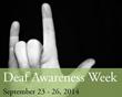 Baltimore Nonprofit Celebrates Deaf Awareness Week