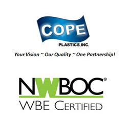 Cope Plastics Re-Certified by the National Women Business Owners Corporation (NWBOC)