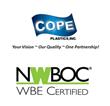 Cope Plastics, Inc. Re-certified as a Woman Business Enterprise