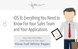 Mobile Sales Apps, iOS 8