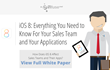 Infuse Media group Releases White Paper on iOS 8's Impact on Sales...