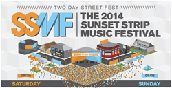 Music Festival, Sunset Strip, Live Music, hip hop, alt rock, concerts