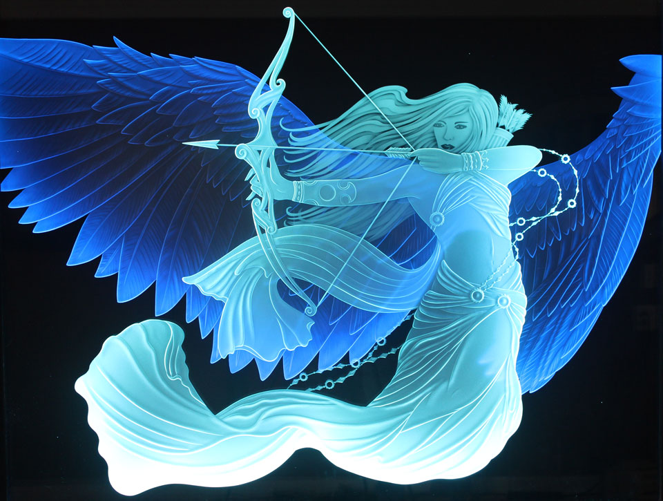Krystal Glass Company Unveils New Led Art Glass Display