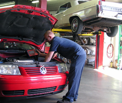 Our primary service is automatic and manual transmissions, along with work on transfer cases and rear ends.