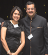 Author Bapsy Jain with Her Husband SP Jain