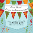 Complimentary calls to landlines in Mexico on Independece Day only on...