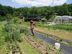 Jeremy Griste at Living Web Farms