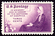"""Whistler's Mother"" U.S. Stamp (Issue of 1934)"