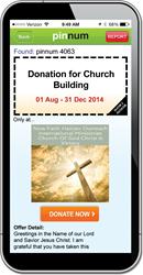 pinnum for Churches