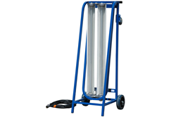 Two Lamp Explosion Proof Cart equipped with 56 watts of power