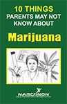 Marijuana booklet for parents