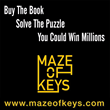 Launching Sept. 17th, Maze of Keys – Buy the Book, Solve the Puzzle,...