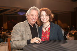 John C. Maxwell with Peggy Kimmey