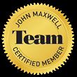 Certification Seal: John Maxwell TEAM