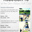 Rates for Lessons on the RoboGolfPro at the Glen Abbey Golf Academy