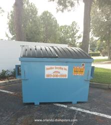 dumpster rental company orlando