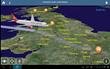 Virgin Atlantic Airways Select FlightPath3D Moving Map Service