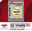 Minimizer Honored as Silver Winner in the 2014 Golden Bridge Awards -...