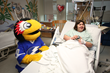 """""""ThunderBug"""" visits Florida Hospital Tampa"""