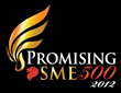 Consecutive years of 2012/2013 Promising SME 500.