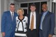 Chris Herren, Karen Prince, President of Summit, Trey Carter, CEO of Summit and Coach John Lucas