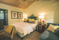 New guest rooms at Lake Austin Spa Resort reflect high style.
