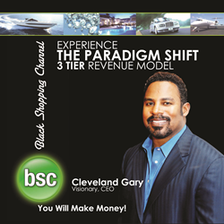Cleveland Gary creates a platform that includes social media and Ecommerce with the new small business owners onlnine virtual store