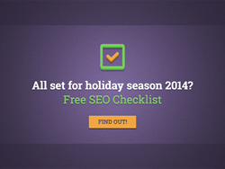 Free SEO checklist to prepare for the holiday season