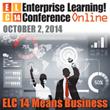 Enterprise Learning! Conference Online Event Opens October 2nd, 2014
