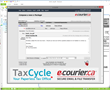TaxCycle and e-Courier.ca provide secure e-mail for Canadian...