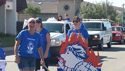 well-known san diego plumber participates in poway parade