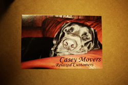 Image of Blackie Postcard of Casey Movers