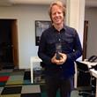 Producer Joel Bach receives Golden Goody Award (aka Oscar for Social Good)
