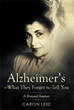 Author shares personal journey about her mother's Alzheimer's disease