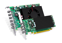 Matrox C-Series multi-display graphics cards