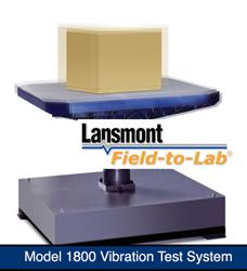 Lansmont 1800 Vibration - Whitehouse Labs