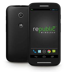 Affordable smart phone, Republic Wireless Moto E