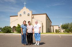 Winners of Catholic Extension's 2014 Lumen Christi Award